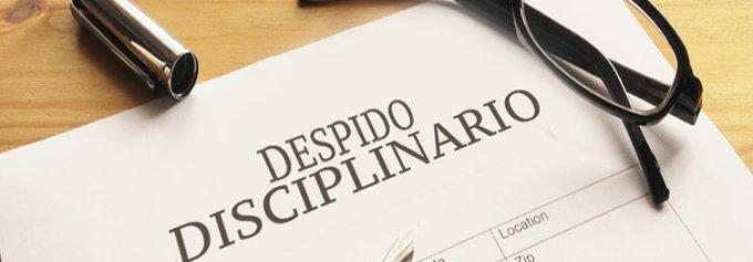 Qué hacer ante un despido disciplinario